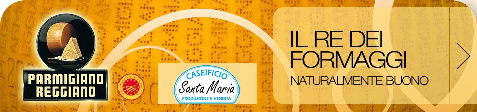 Parmigiano Reggiano Santa Maria Caseificio
